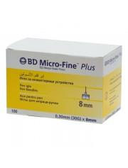 Иглы BD Micro-Fine Plus 30G х 8 мм