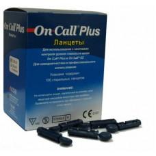 Ланцеты On-Call Plus, 100 шт в упаковке