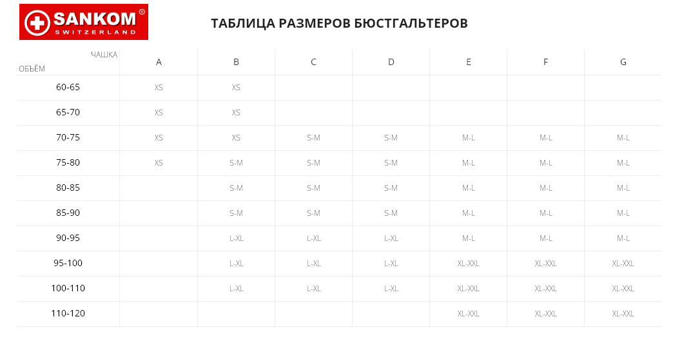 Бюстгальтер SANKOM Patent Bra купить в Киеве