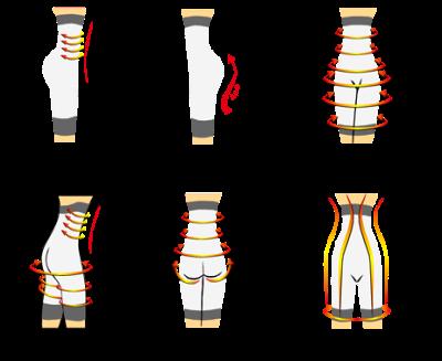 Корректирующее белье с утяжкой